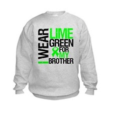 I Wear Lime Green Brother Sweatshirt