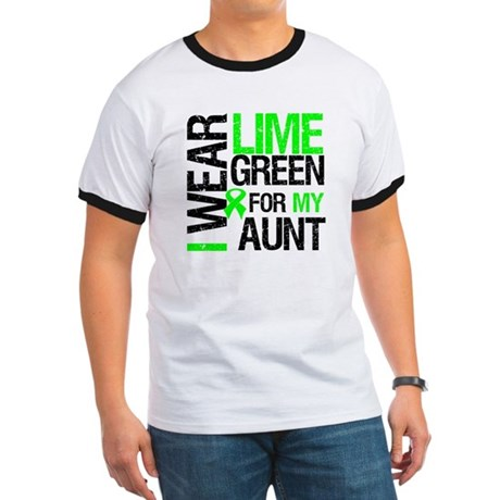 I Wear Lime Green For My Aunt Ringer T