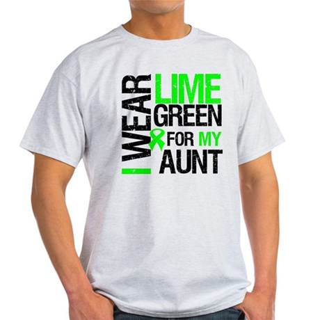 I Wear Lime Green For My Aunt Light T-Shirt