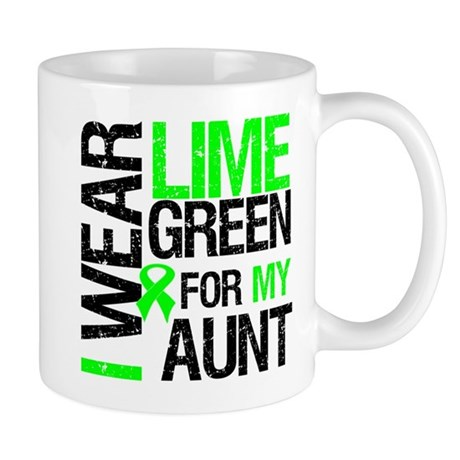 I Wear Lime Green For My Aunt Mug