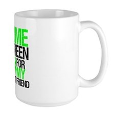 I Wear Lime Green Best Friend Mug