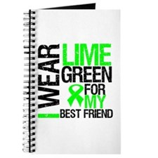 I Wear Lime Green Best Friend Journal