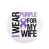 "IWearPurple Wife 3.5"" Button"