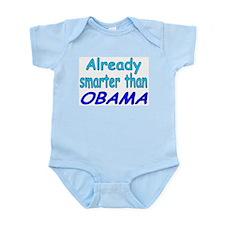 Smarter- Obama Infant Bodysuit