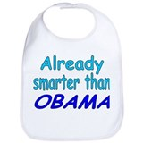 Smarter- Obama Bib