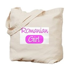 Romanian girl Tote Bag