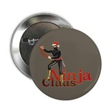 Ninja Claus 2.25&quot; Button (100 pack)