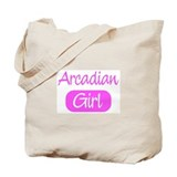 Arcadian girl Tote Bag