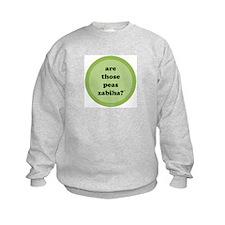 Zabiha Peas Sweatshirt (light green)