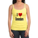 I Love Greensboro Jr. Spaghetti Tank