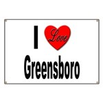 I Love Greensboro Banner