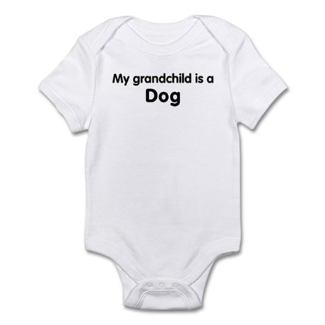 Dog grandchild Infant Bodysuit