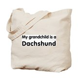 Dachshund grandchild Tote Bag