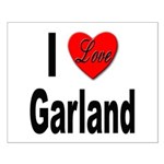 I Love Garland Small Poster