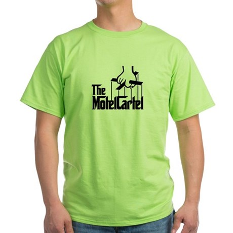 The Motel Cartel Green T-Shirt