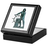 Fisherman's Memorial Keepsake Box