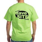 davesite.com Green T-Shirt