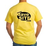 davesite.com Yellow T-Shirt