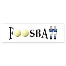 Bumper Sticker - Foosball