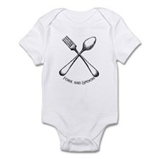 Fork and Spoon Infant Bodysuit