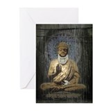 Banksy Buddha Greeting Cards (Pk of 20)