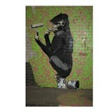 Banksy Spray Postcards (Package of 8)
