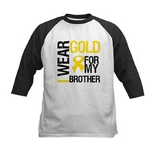 I Wear Gold For My Brother Tee