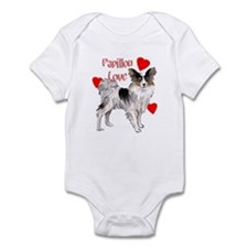 papillon love Infant Bodysuit
