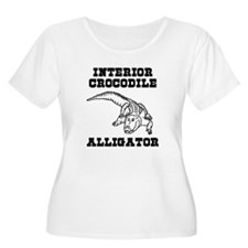 Interior Crocodile Alligator T-Shirt