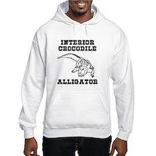 Interior Crocodile Alligator Jumper Hoodie