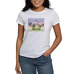Ameraucana Chickens Pair Women's T-Shirt