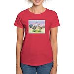 Ameraucana Chickens Pair Women's Dark T-Shirt