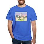 Ameraucana Chickens Pair Dark T-Shirt