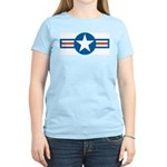Air Force Roundel Women's Pink T-Shirt