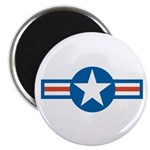 "Air Force Roundel 2.25"" Magnet (100 pack)"