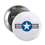 Air Force Roundel Button