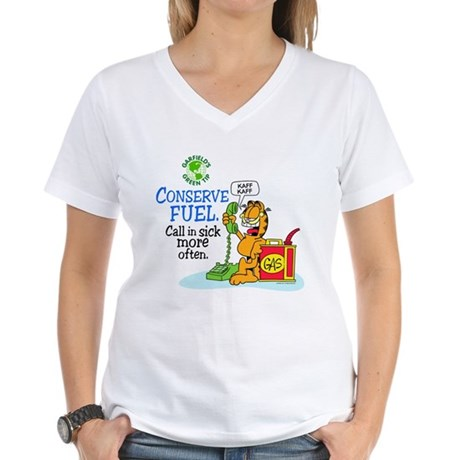 Conserve Fuel Women's V-Neck T-Shirt