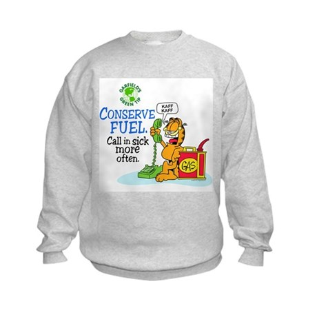 Conserve Fuel Kids Sweatshirt