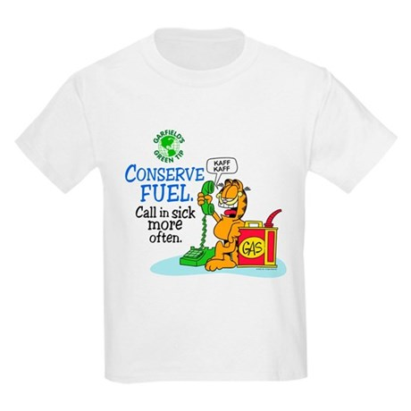Conserve Fuel Kids Light T-Shirt