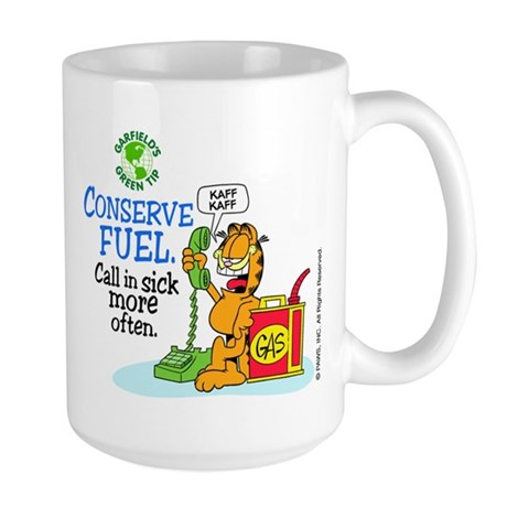 Conserve Fuel Large Mug