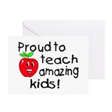 Proud To Teach Amazing Kids Greeting Cards (Pk of
