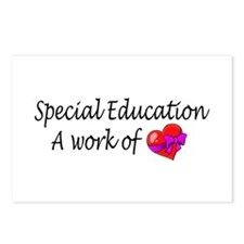 Special Education, A Work Of Love Postcards (Packa