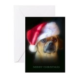 Puggle Christmas Gift Greeting Cards (Pk of 20)