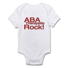 ABA Therapists Rock! Infant Bodysuit