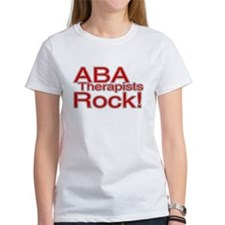 ABA Therapists Rock! Tee