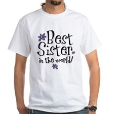 Best Sister Flower Shirt
