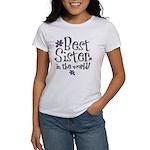 Best Sister Flower Women's T-Shirt