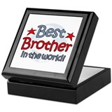 Best Brother Globe Keepsake Box