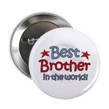 """Best Brother Globe 2.25"""" Button"""
