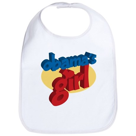 Obama's Girl Support President Barack Bib